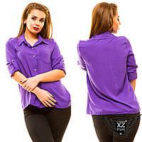 Женская рубашка с коротким рукавом, большого размера, цвета мятная, черная, фиолетовая, другие цвета