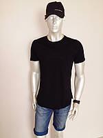 Удлиненная мужская  футболка