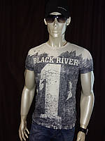 Мужская футболка Black River, фото 1