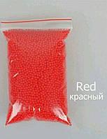 Орбиз  аквагрунт, шарики растущие в воде, гидрогель синий (02261) Красный