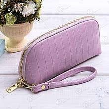 Клатч-кошелек женский cо шнурком на руку Fuerdanni 912-2purple