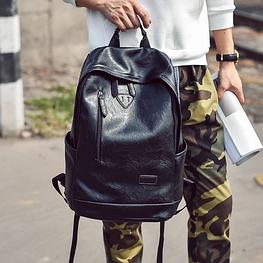 Мужской кожаный рюкзак. Модель 2242