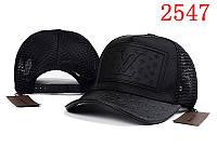 Кепка женская Louis Vuitton. Бейсболка | LV черная