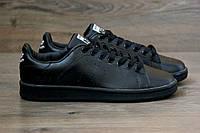 Мужские кроссовки Adidas Stan Smith Raf Simons black