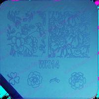 Диск для стемпинга WK14