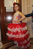 Детское нарядное платье Джуди красное - прокат, Киев, троещина