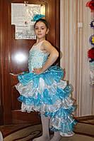 Детское нарядное платье Джуди бирюза - прокат, Киев, троещина