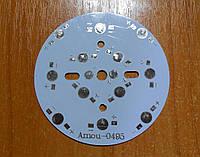 Подложка для светодиодов на 12шт 0.5-1Вт 78мм