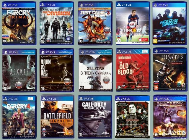 Игры к Sony PlayStation 4 (PS4)