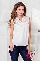 Нежная летняя блузка (4 цвета)