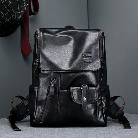 Мужской кожаный рюкзак. Модель 2245
