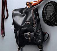 Мужской кожаный рюкзак. Модель 2245, фото 2