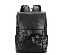 Мужской кожаный рюкзак. Модель 2245, фото 3