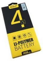 Аккумулятор для iPhone 4s 1430mAh Golf