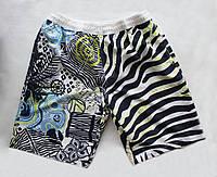 Пляжные шорты для мужчин с графично-анималистичным принтом