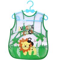 Слюнявчик-фартук непромокаемый с кармашком Jungle Fever (02201)