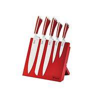 Набор ножей на магнитной подставке Royalty Line