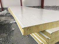 Сендвич панель  стеновая  минвата 200 мм  металл 0,45 мм