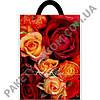 """Пакет с петлевой ручкой  """"Красная роза"""" (24х30) 25 шт"""