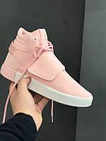 Кросівки Adidas Tubular Invader Pink. Живе фото. Топ якість! (Репліка ААА+), фото 1