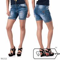 Шорты женские джинсовые, р 25, 26, 27