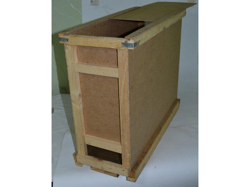 Ящик для пчелопакетов Дадан (на 4 рамки)