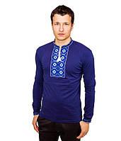 Вышитые мужские рубашки. Украинские рубашки. Вышитая футболка с длинным рукавом. Вышиванки.