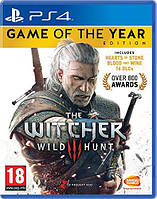 Игра The Witcher 3: Game Of The Year (на диске) к Sony PlayStation 4 (PS4)