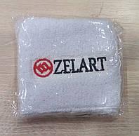 Напульсник на руку от Zelart белого цвета.