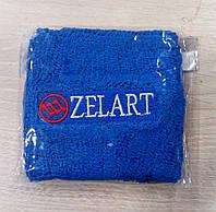 Напульсник на руку от Zelart в синем цвете.