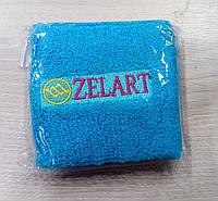 Напульсник голубой на руку от Zelart.