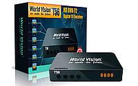 Цифровой эфирный DVB-T2 приемник World Vision T56.