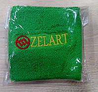 Напульсник зеленый на руку от Zelart.