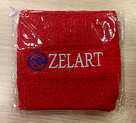 Красный напульсник на руку от Zelart.