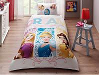 Детское подростковое постельное белье TAC Disney Princess Dream Ранфорс