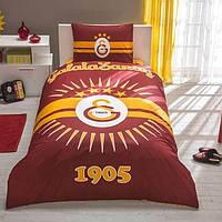 Детское подростковое постельное белье TAC Galatasaray Glow Ранфорс светящееся