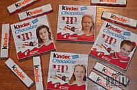 Ваше фото Набор Киндер шоколада 4шт