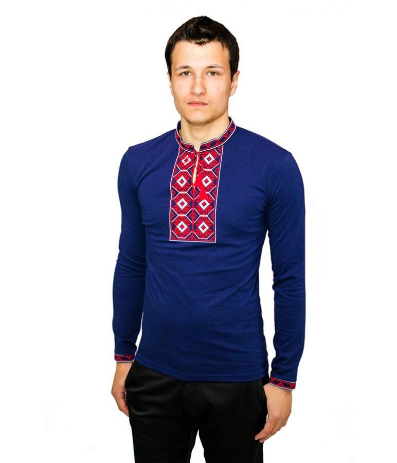Интернет магазин вышитых изделий. Мужские вышитые рубашки. Рубашки с орнаментом мужские. Вышиванки., фото 1