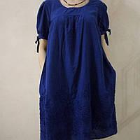 Платье хлопок вышивка