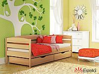 Деревянная кровать Нота Плюс(щит)80*190