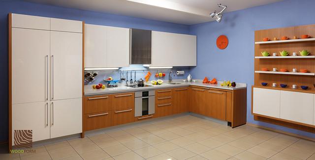 Кухня Лекко из дерева