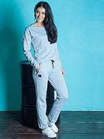 Стильный женский спортивный костюм Магнит NICE светло-серый