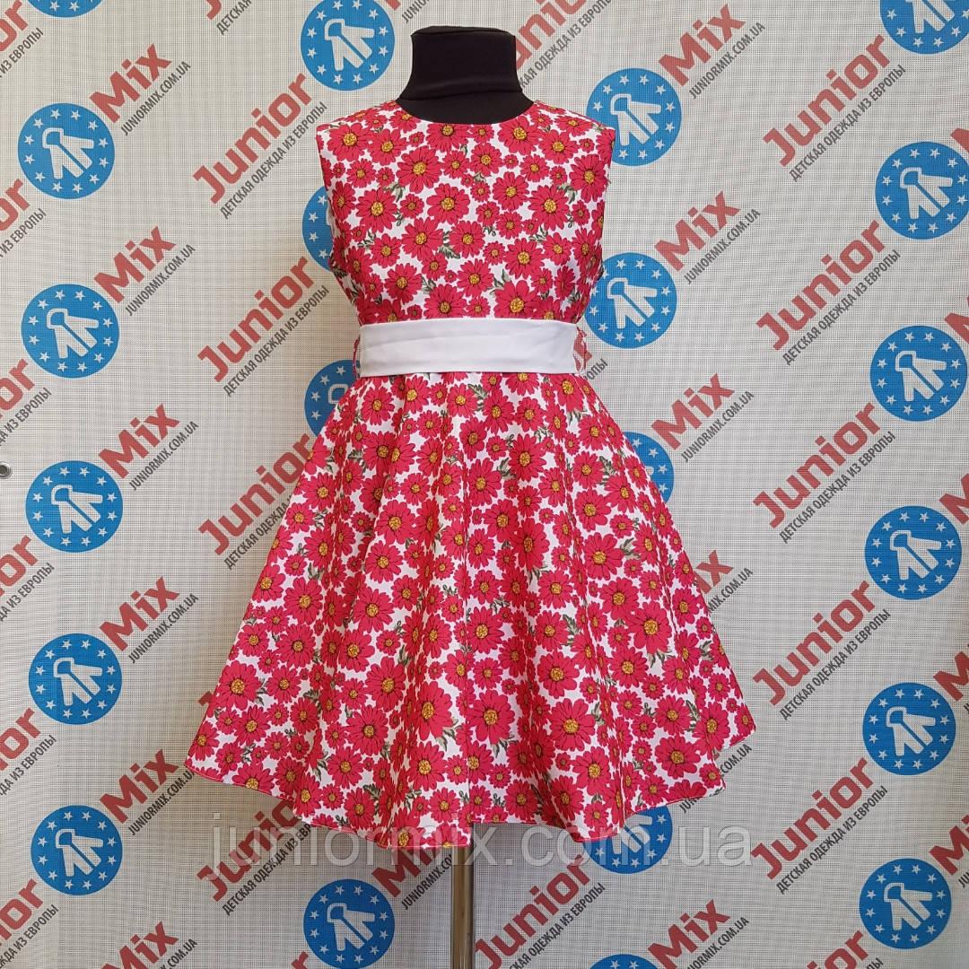 Платье на девочку в ромашки  SNEKE. ПОЛЬША