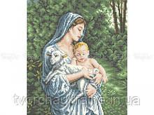 Схема для вышивки бисером «Любовь матери»