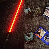 Световой меч Дарта Вейдера Звездные войны Force FX Black Series Star wars