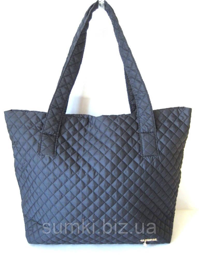 Текстильные стеганные сумки Синие