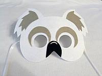 Карнавальная маска Коала медведь. Детские сюжетно ролевые игры., фото 1