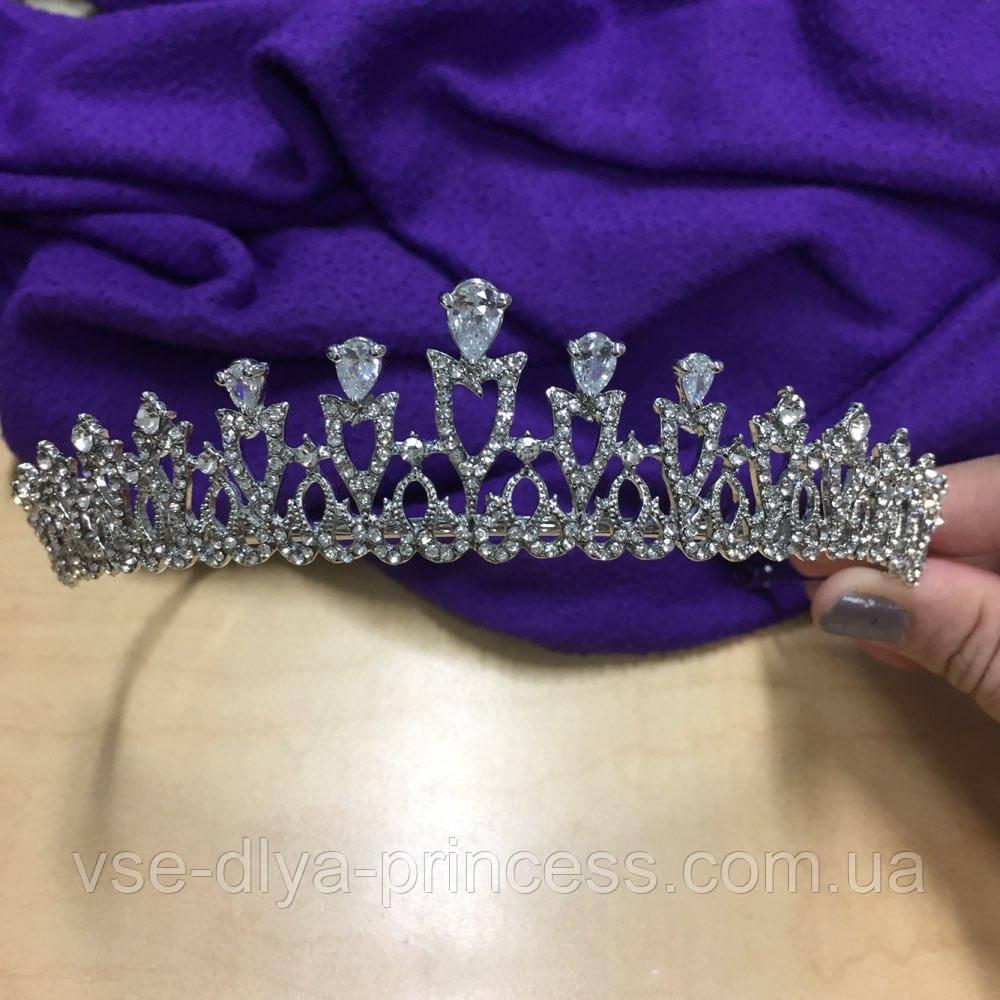 Корона, диадема, тиара в серебре, высота 3,5 см., цена 320 грн ... ede06050e1c
