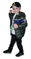 Осенняя куртка на мальчика Зара-1