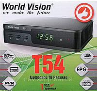 Цифровой эфирный ресивер World Vision T54 DVB-T2: